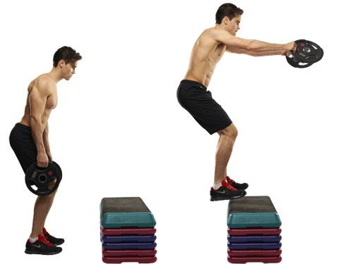 Данное упражнение - 2 в 1: силовая и кадиотренировка