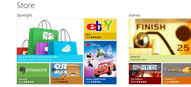 Windows 8 Marketplace