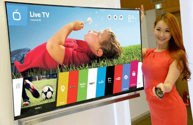 Телевизоры получат новую начинку в виде экзотической WebOS