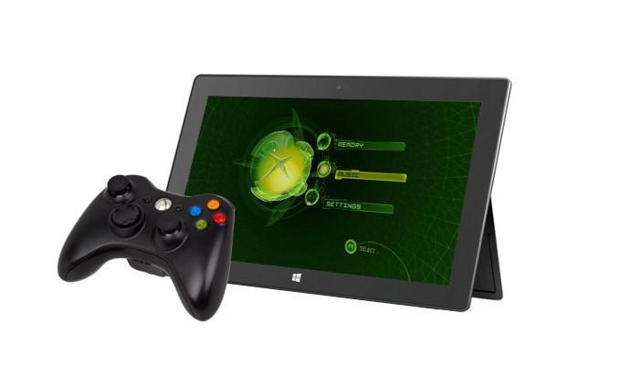 Может быть у Xbox Surface будет геймпад