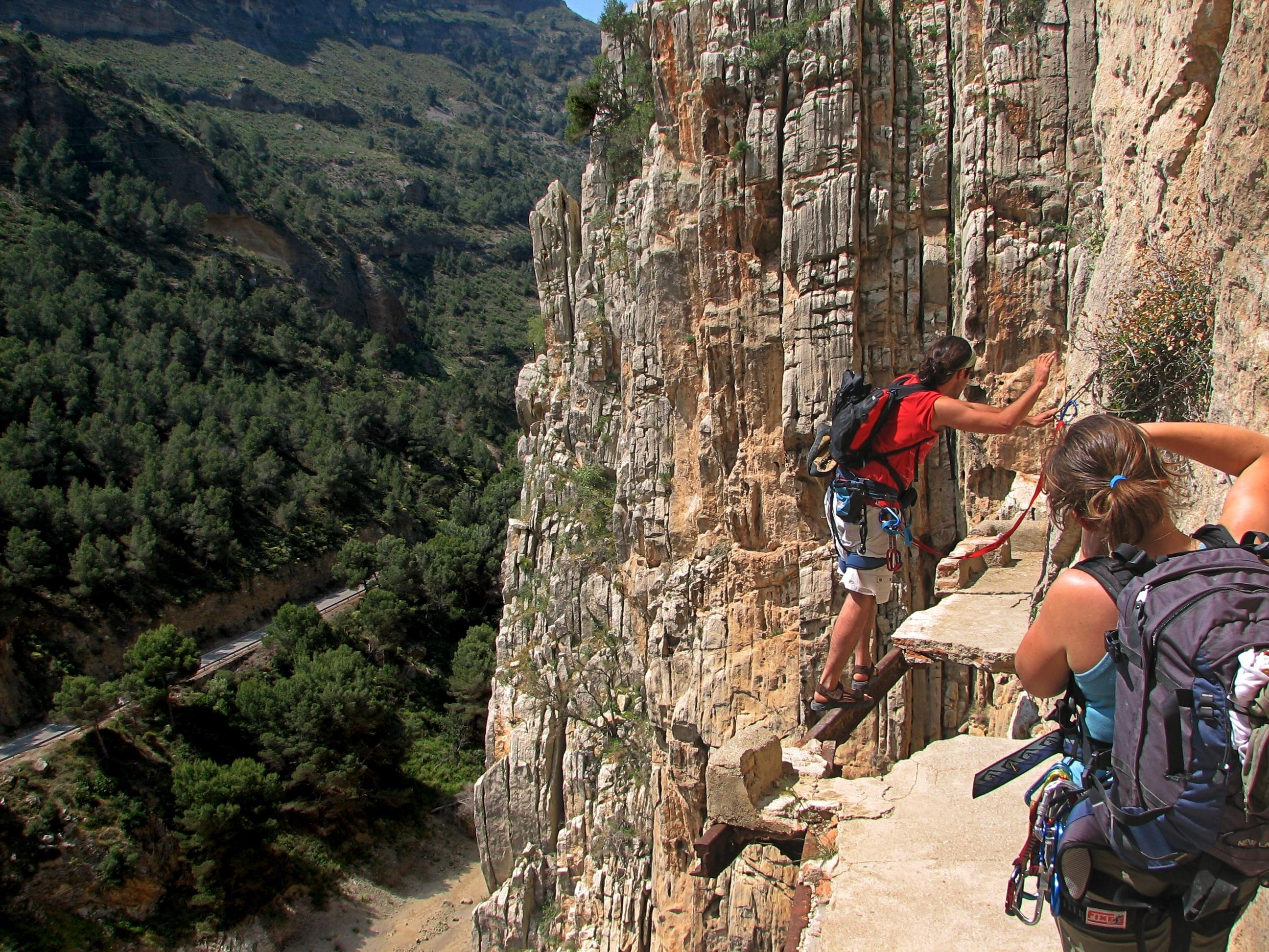 El Caminito Del Rey. Самая опасная горная тропа