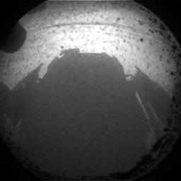 Первые кадры с марсохода