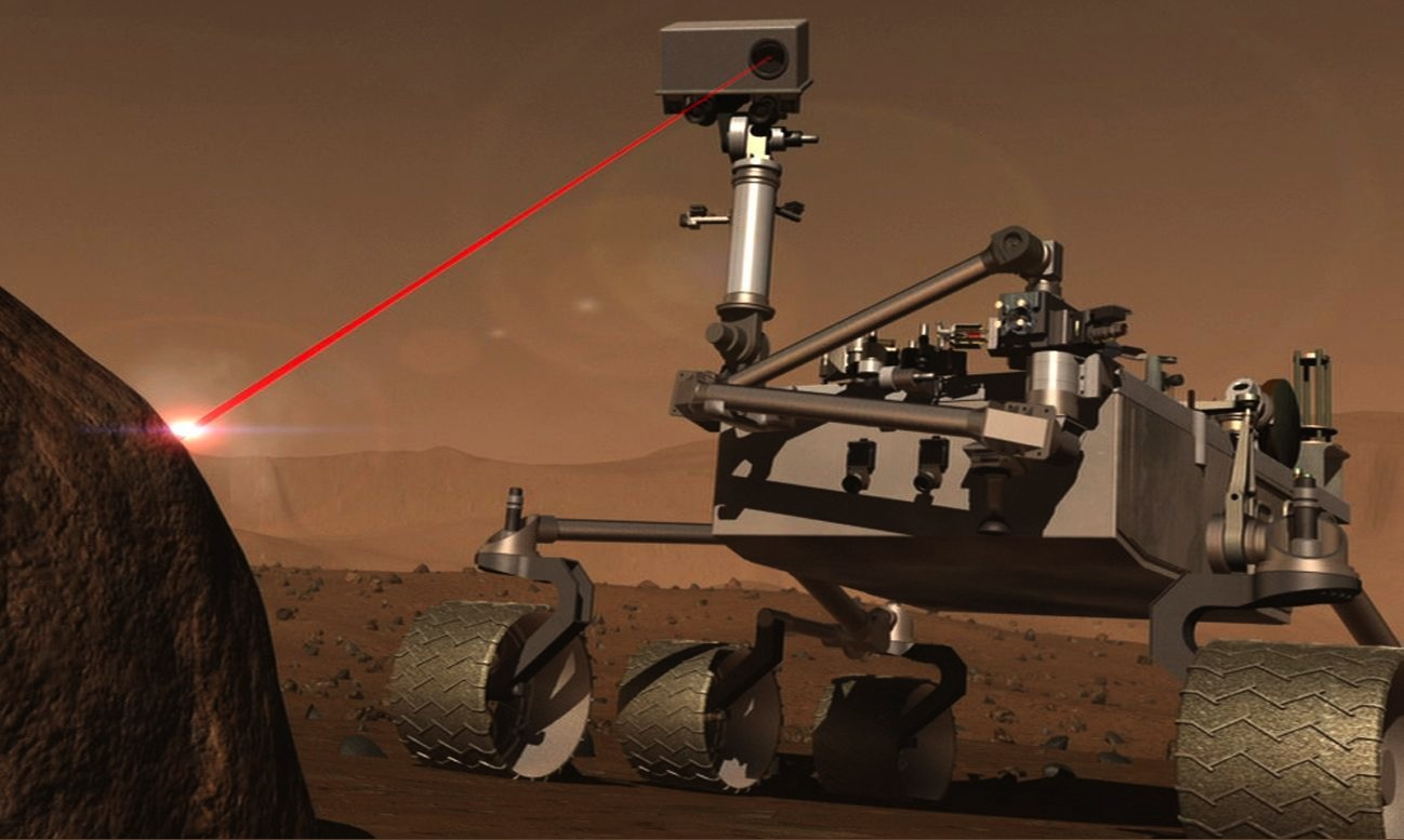 Марсоход «продырявил» Марс