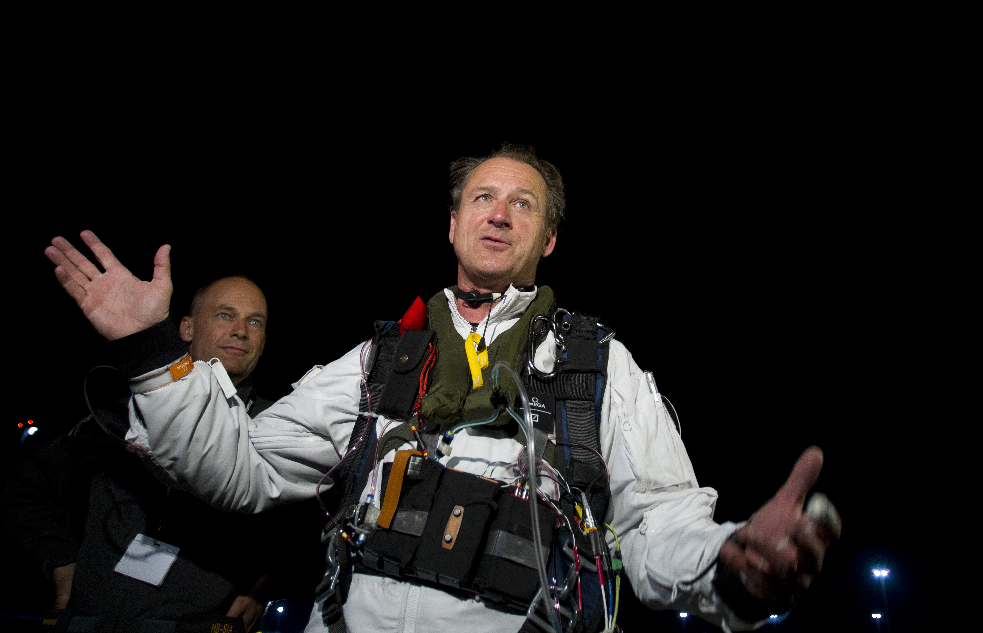 Сутки в небе: пилот Андре Боршберг хорошо полетал