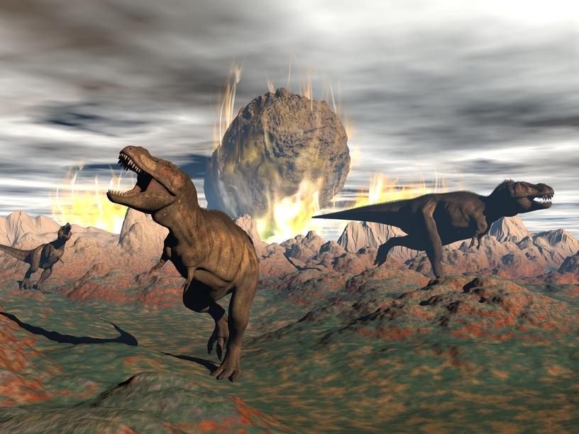 Уничтоживший динозавров астероид мог «отбить» у Земли породы с микроорганизмами