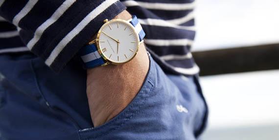 Выбирай простые и тотчас стильные наручные часы