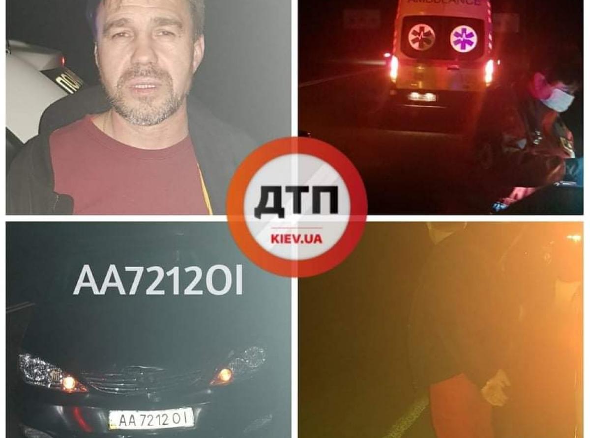 ДТП в Киеве: Сводка за прошедшие сутки