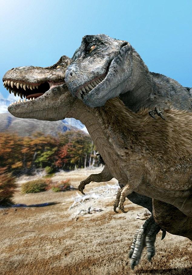 Тираннозавр-самец имел большое достоинство