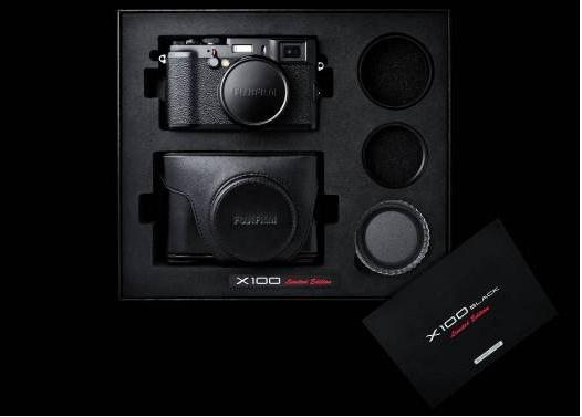 Комплект поставки камеры X100