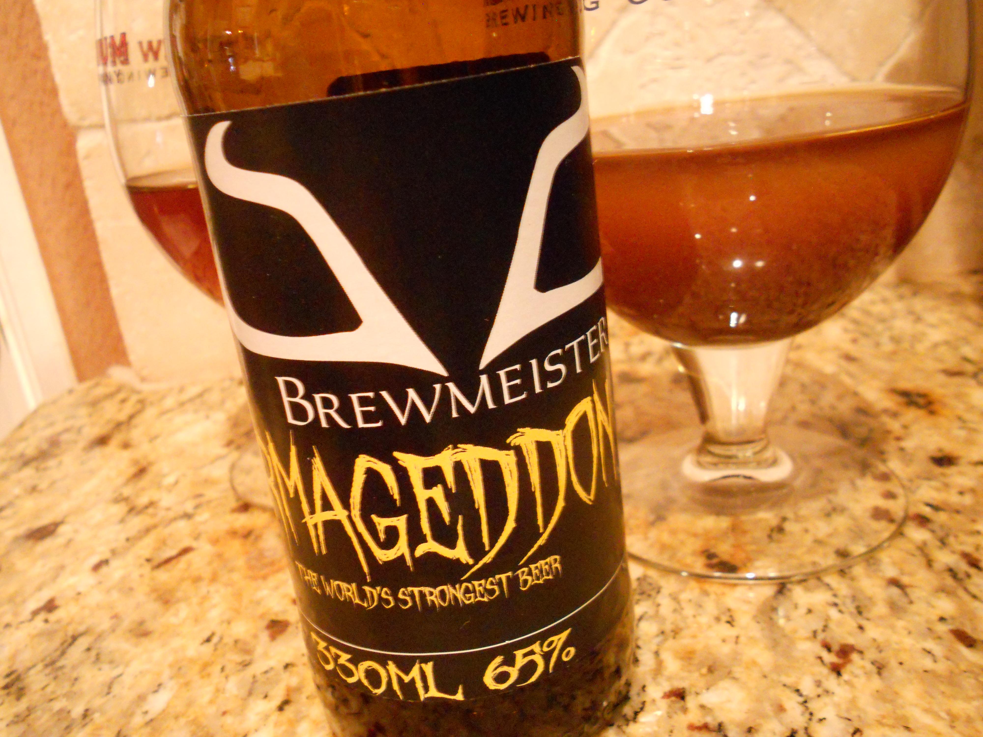 Armageddon - самое крепкое пиво в мире