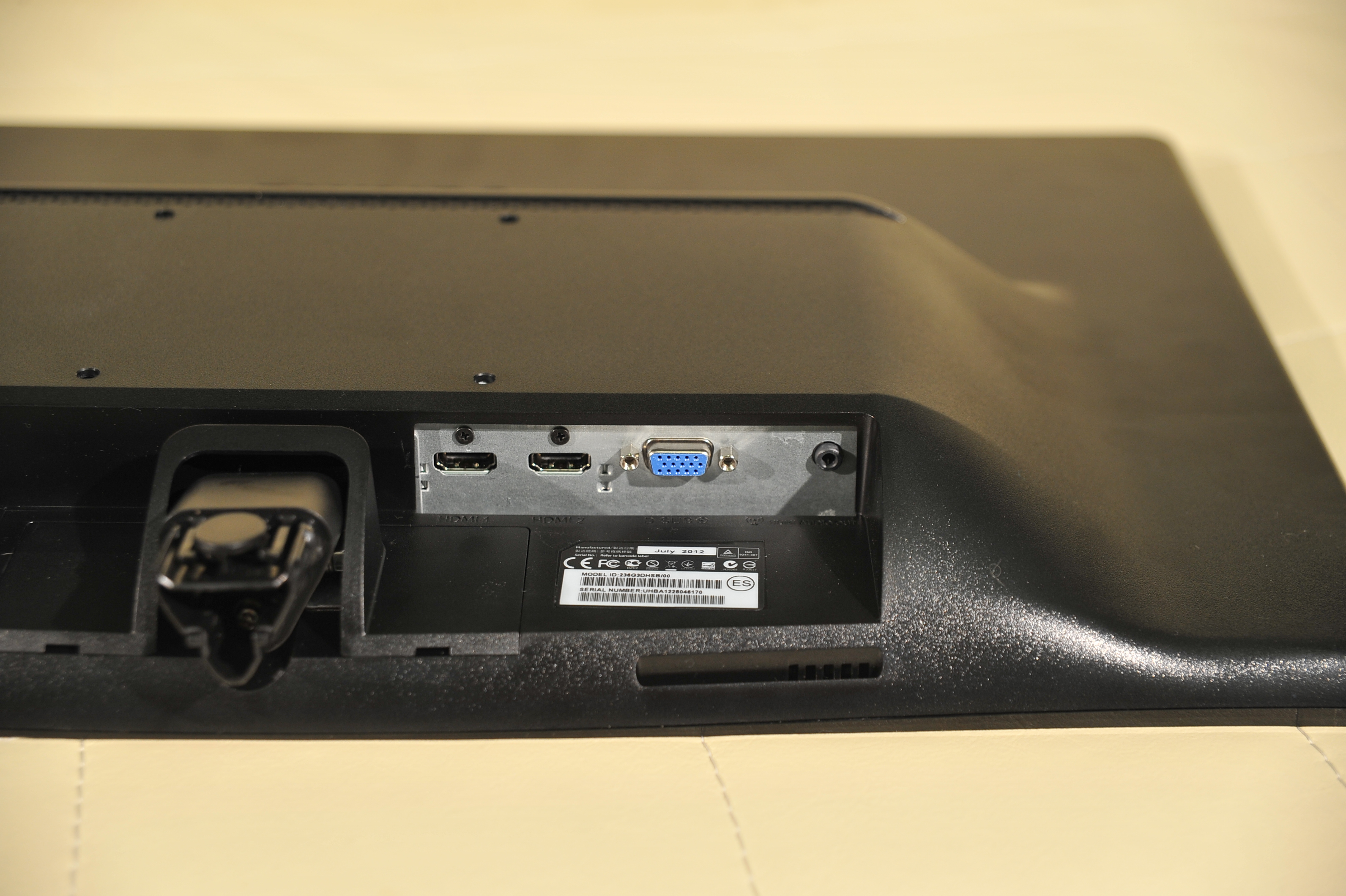 Philips G-line 236G3DH - интерфейсы