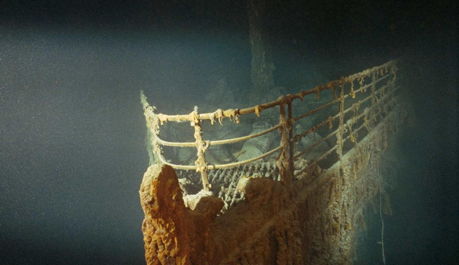 Титаник до сих пор находится под наблюдением различных организаций