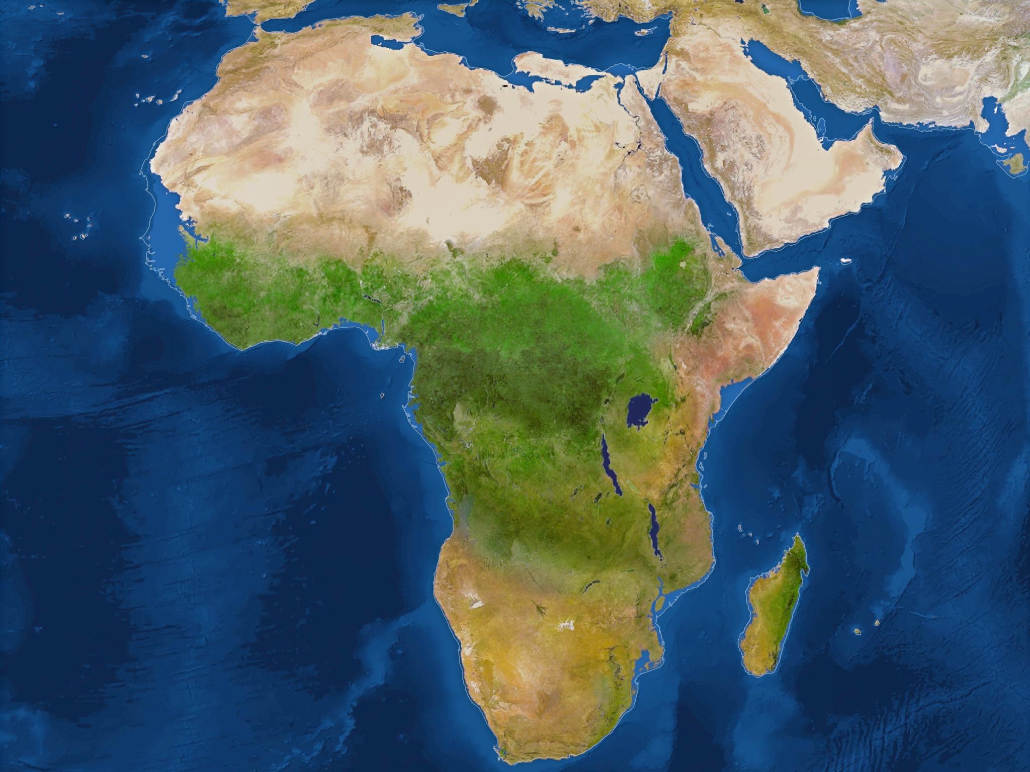 Африка почти не изменится