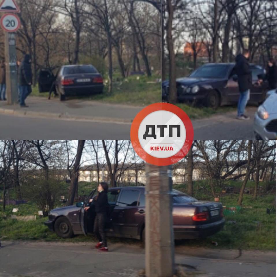 Столкновение на ул. Свирастюка