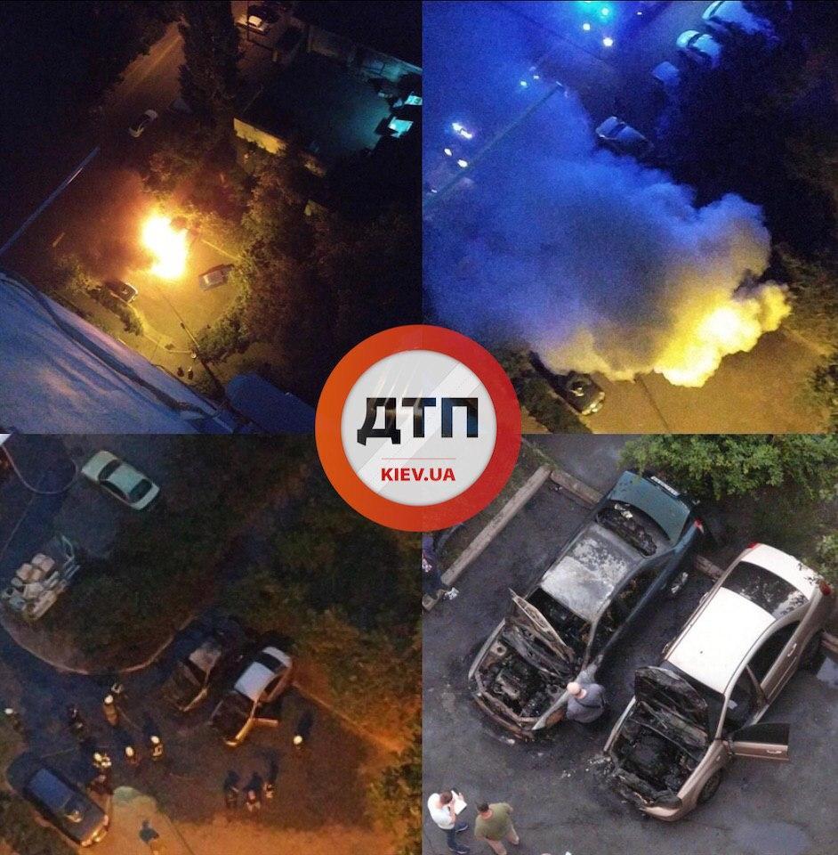 Происшествия на дорогах Киева: Сводка за 25 июня