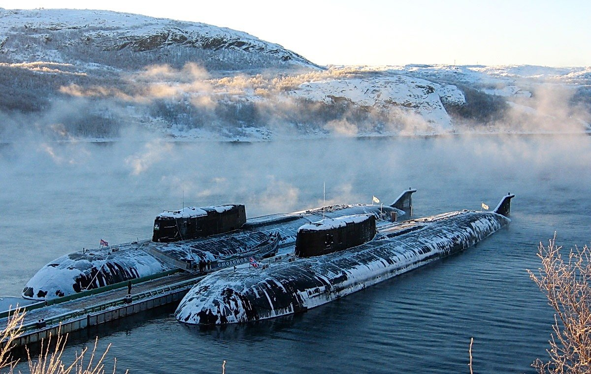 Проект 949 - гигантская советская субмарина с невероятно мощными торпедами