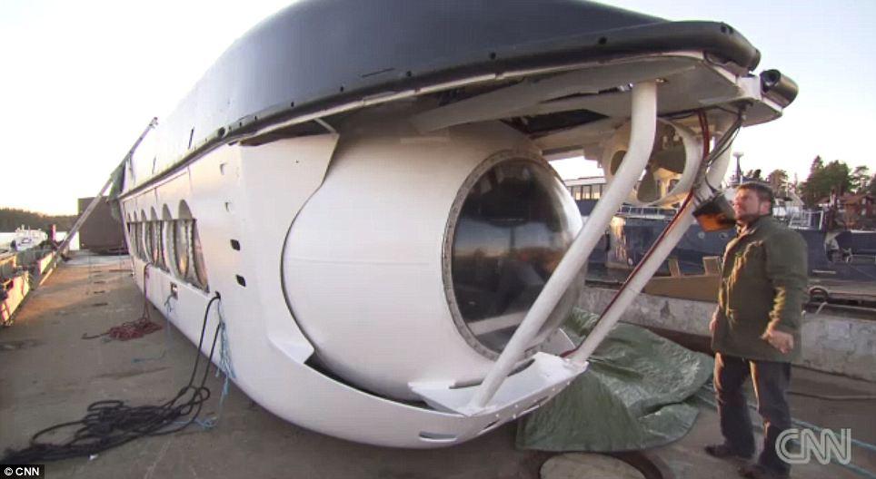 К загадочному объекту спустится подводная лодка