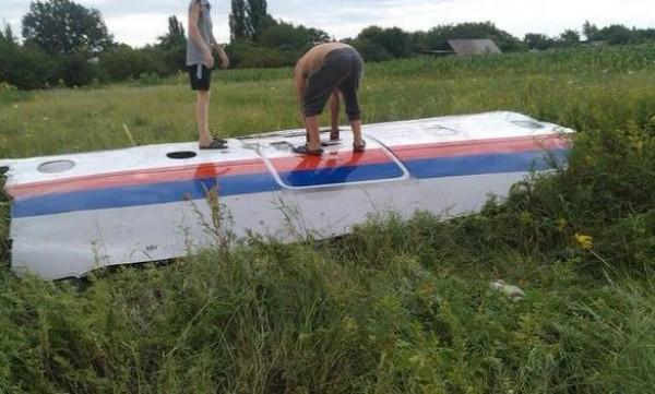 Сбитый Боинг 777 над Донбассом
