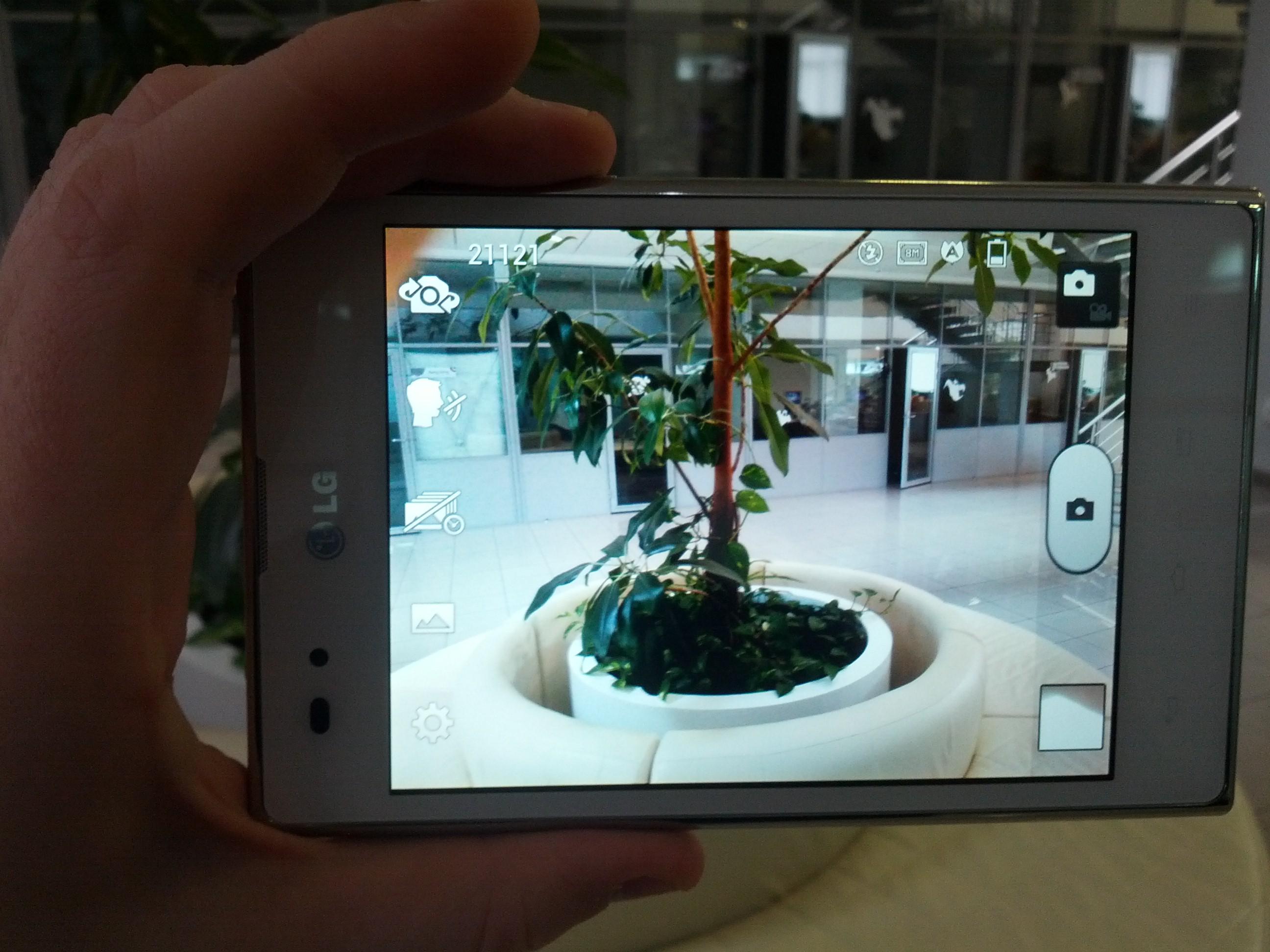LG Optimus Vu фотокамера