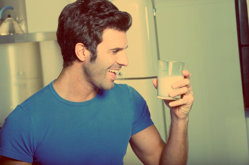 Молоко - один из надежных способов повысить тестостерон