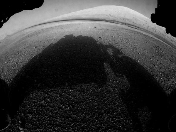 Первые кадры на Марсе