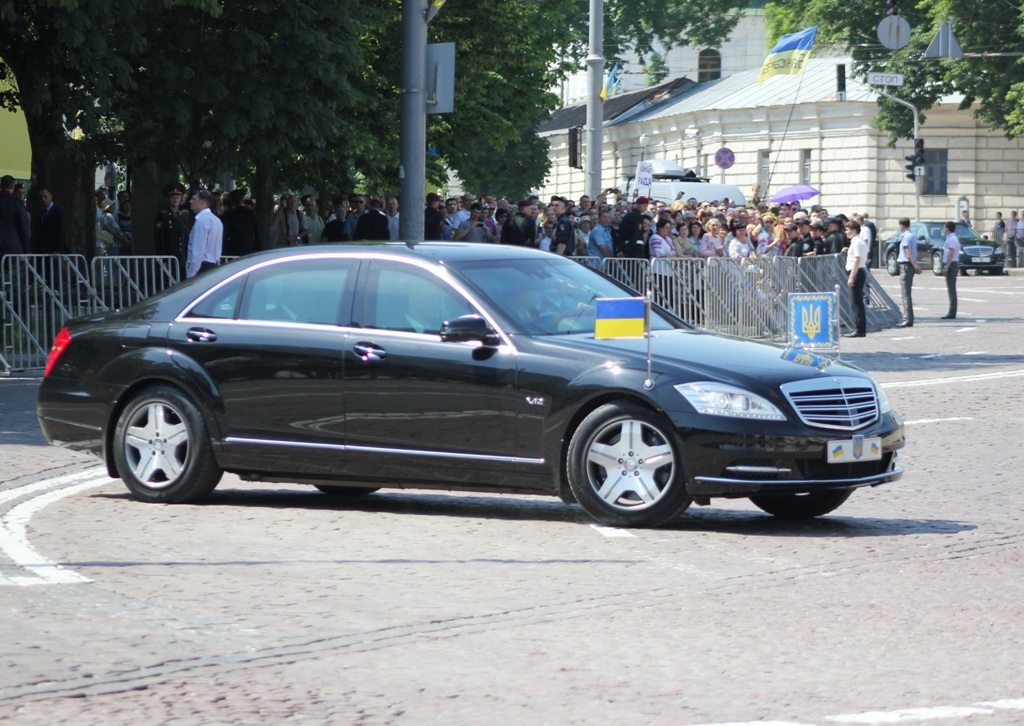 Недавно так давно были заказаны два новых Mercedes S600 Guard W222