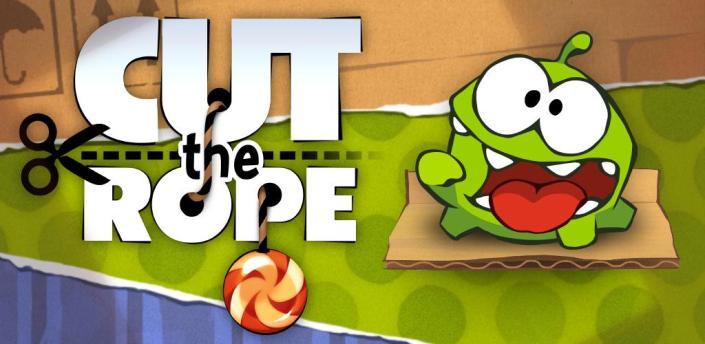 Cut the Rope - успешная мобильная игра родом из России