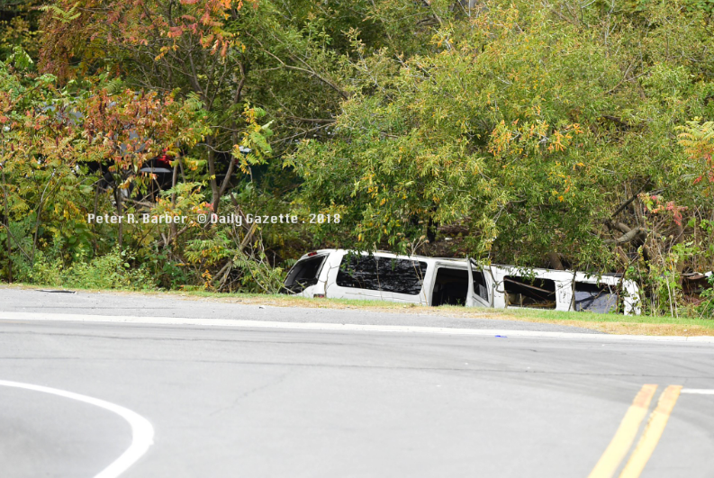 Все пассажиры лимузина и водитель погибли