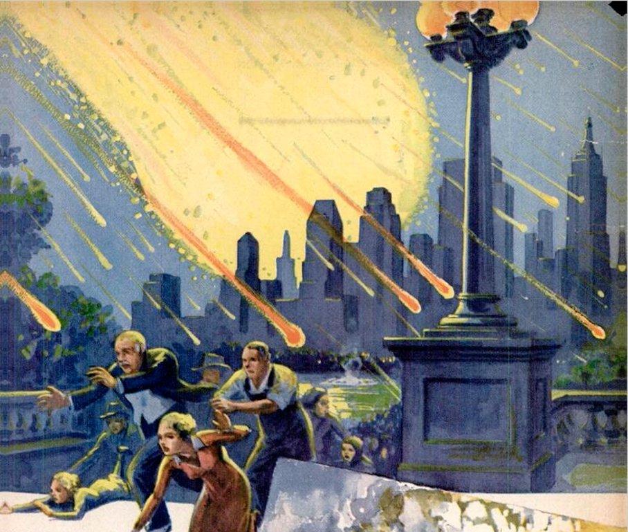 Метеориты атакуют Землю