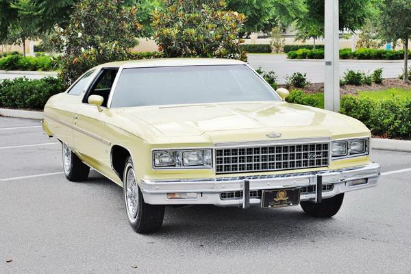 Chevrolet Caprice 1971 года с пробегом всего 7605 км