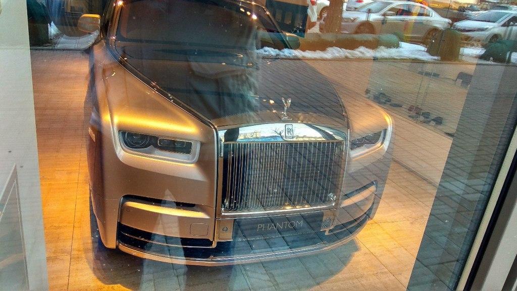 9. Rolls-Royce Phantom