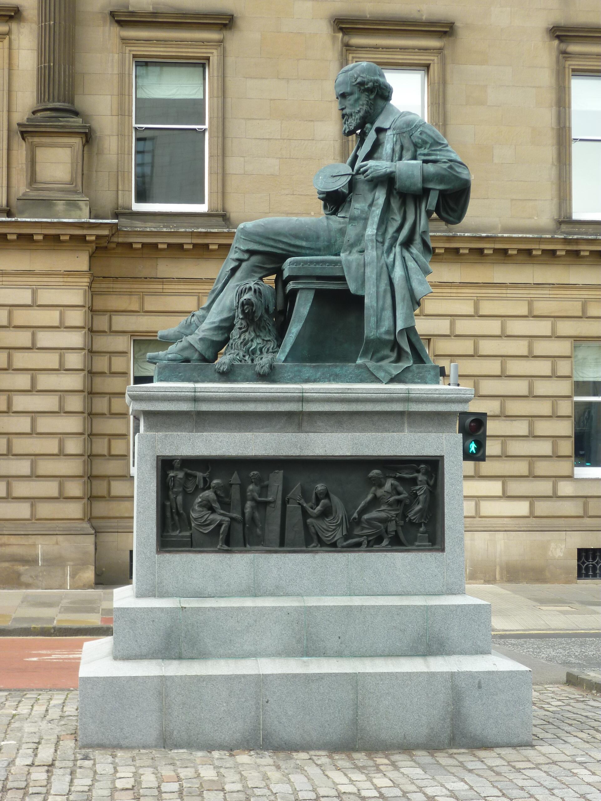 Памятник Джеймсу Максвеллу