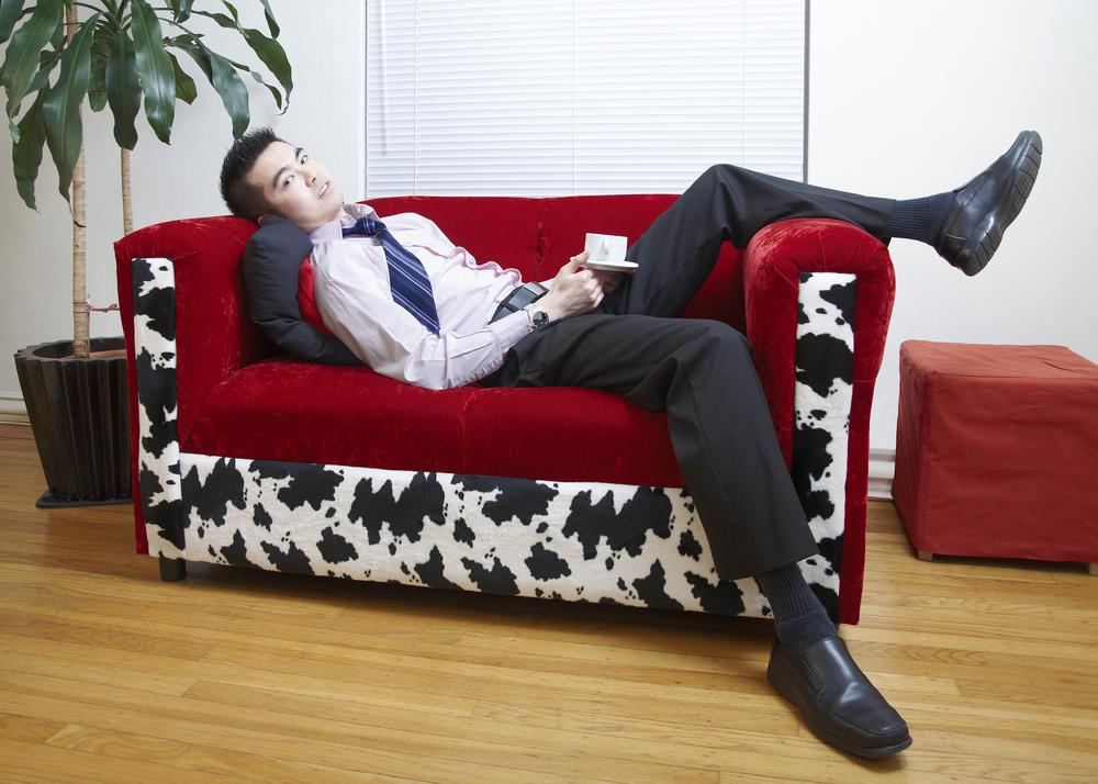 Хорошая работа - та, где всегда можно отдохнуть