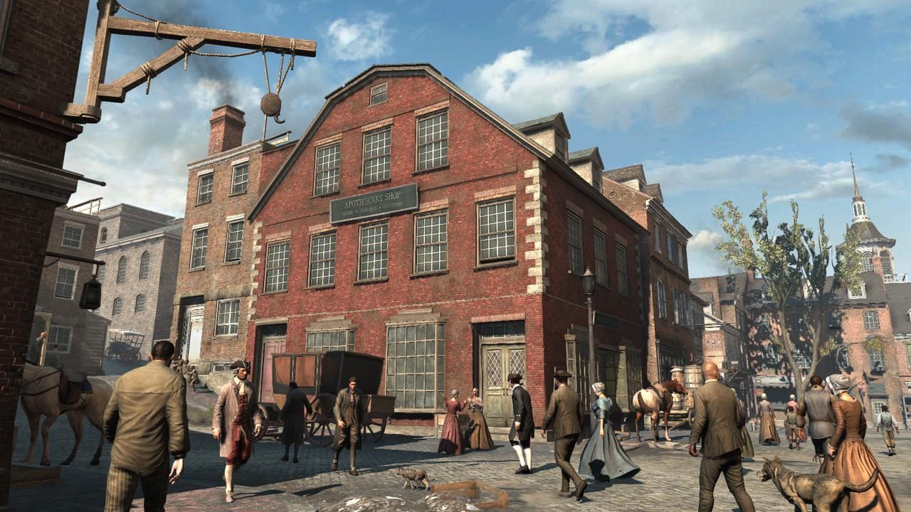 Игра Assassin's Creed 3 слишком похожа на своего предшественника