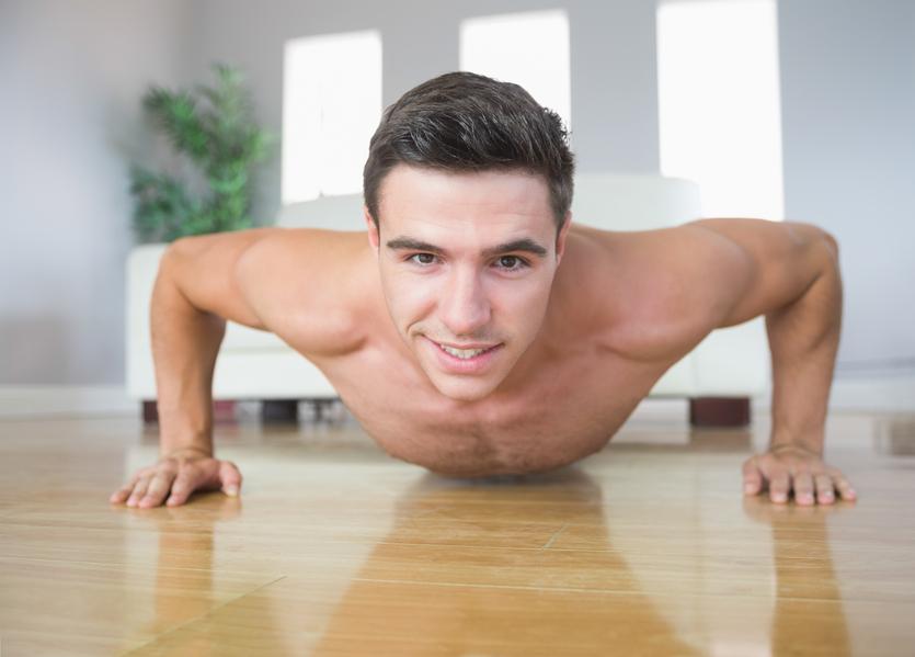 Регулярные тренировки - лучший способ сделать из тебя накачанного мужчину