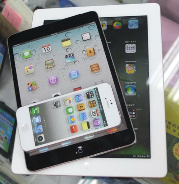 iPad, iPad Mini и iPhone