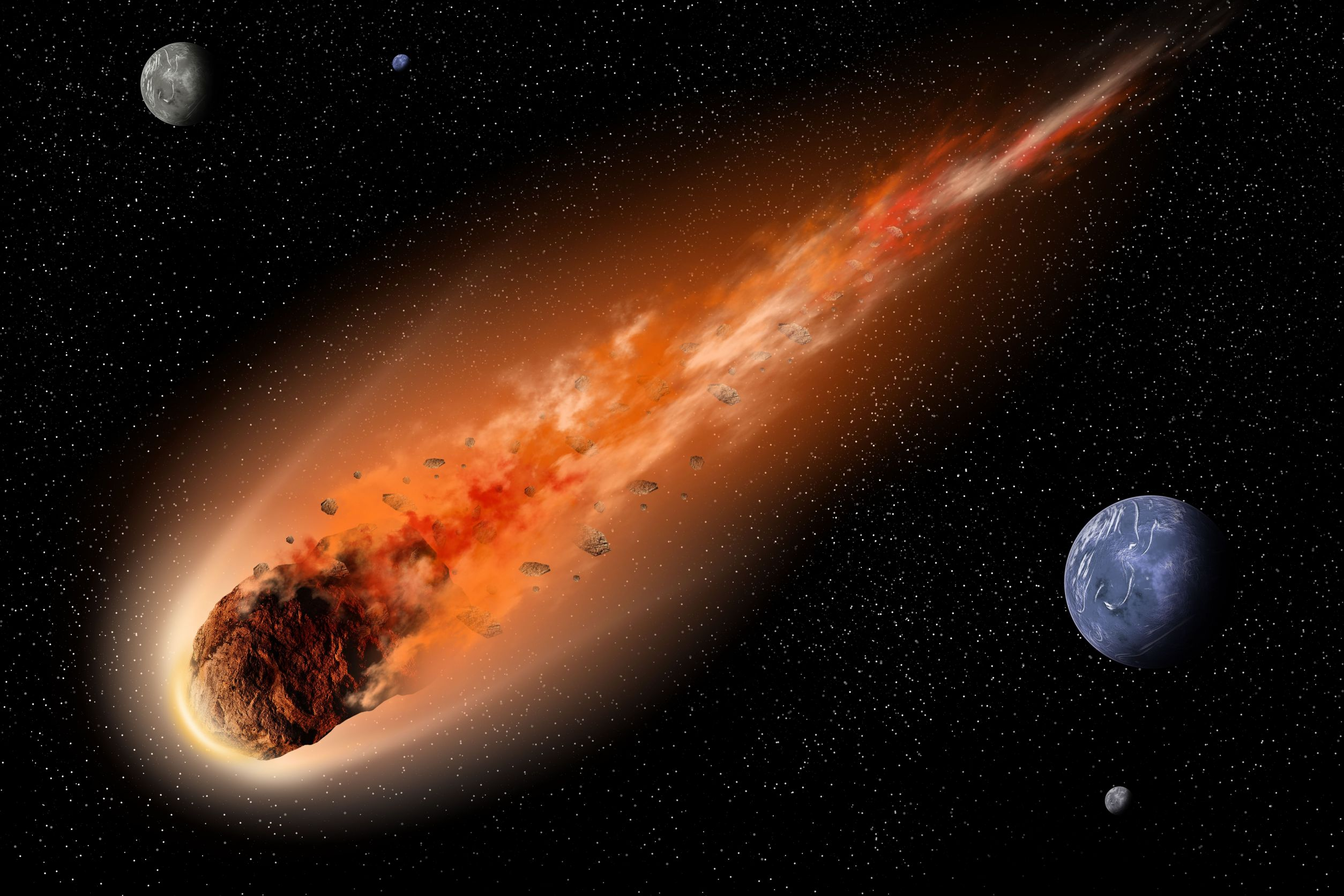 Метеорит Зверь пролетит мимо Земли