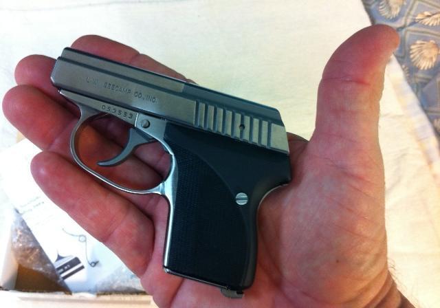 Seecamp LWS 32 Auto - один из самых популярных карманных пистолетов Америки