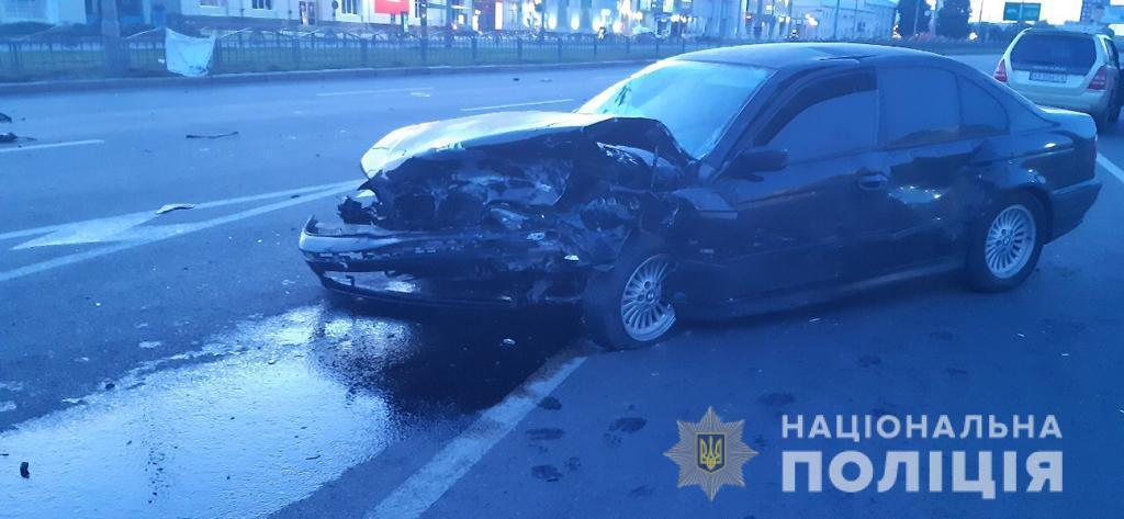 Водитель и пассажиры BMW не пострадали