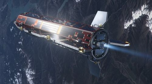 Спутник GOCE упадет с минуты на минуту