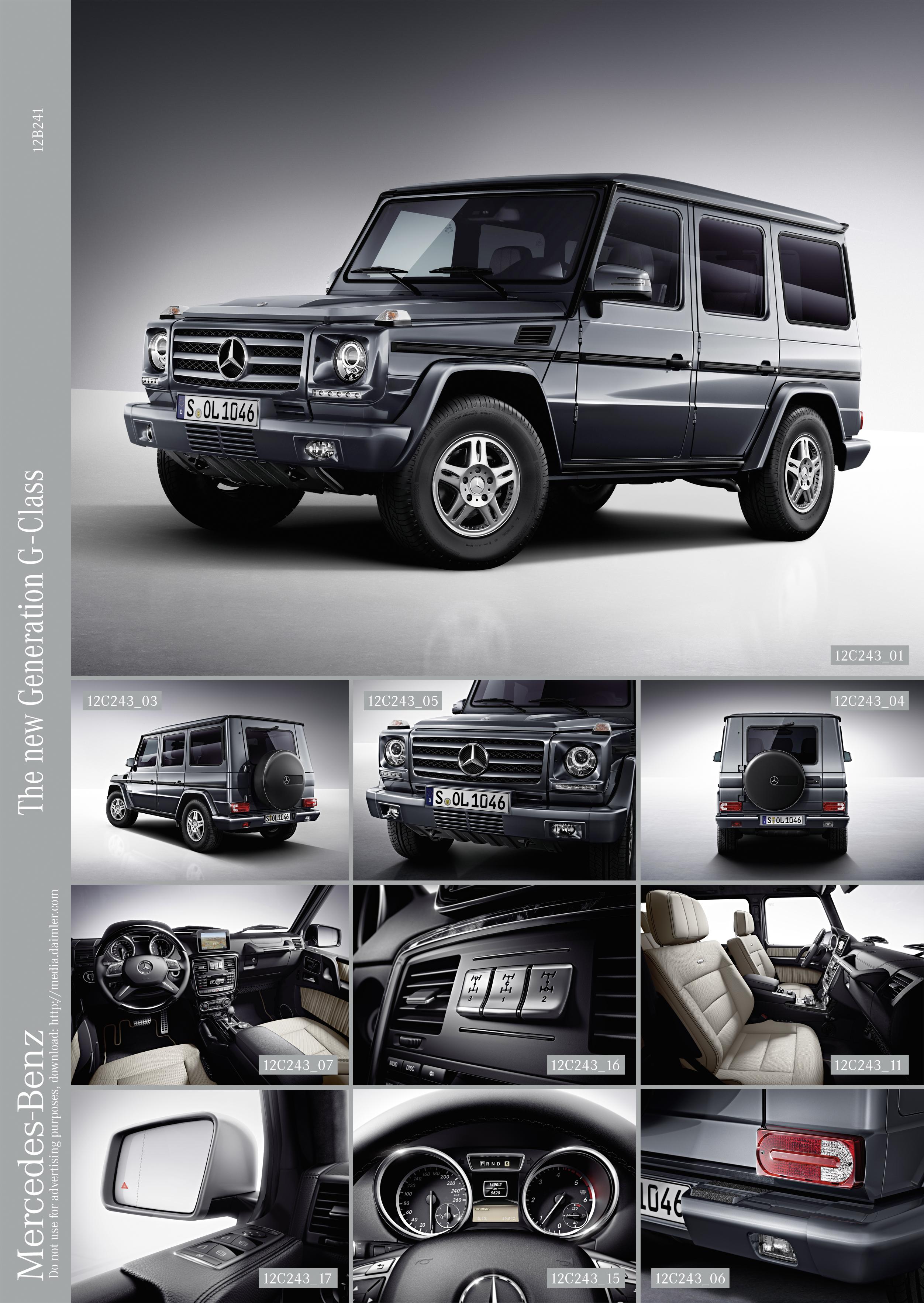 Новый Mercedes-Benz G-Class - идейный преемник Dernburg-Wagen