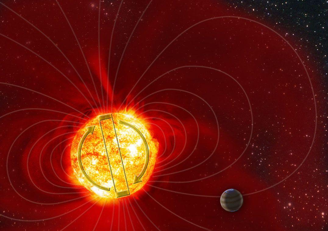 Солнце поменяет полярность уже через несколько недель