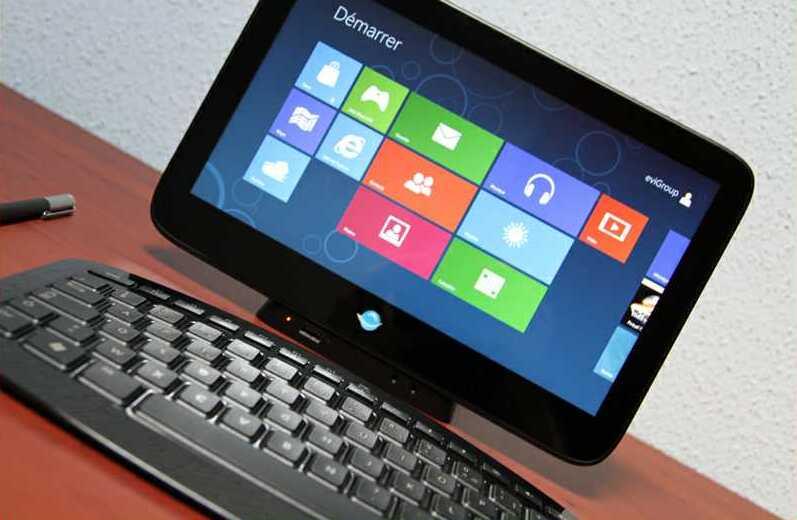 В новом планшете будут сразу две Windows
