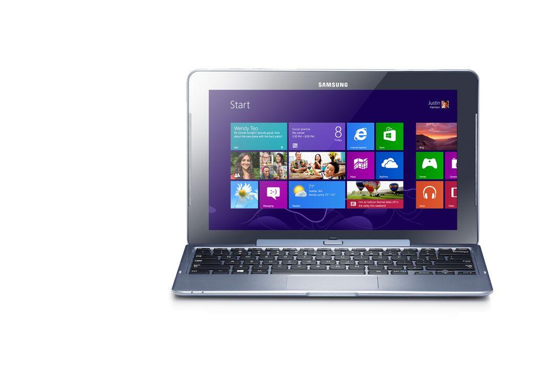 ATIV Smart PC - внешний вид не отличим от обычного ноутбука