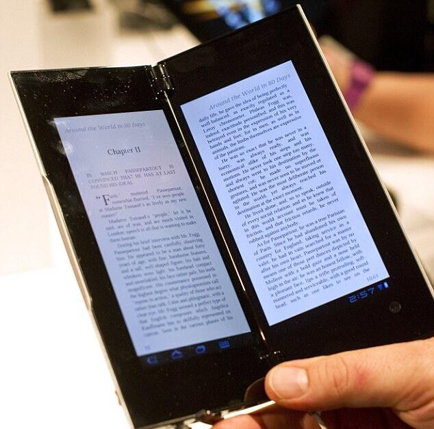 Tablet P можно использовать как книгу