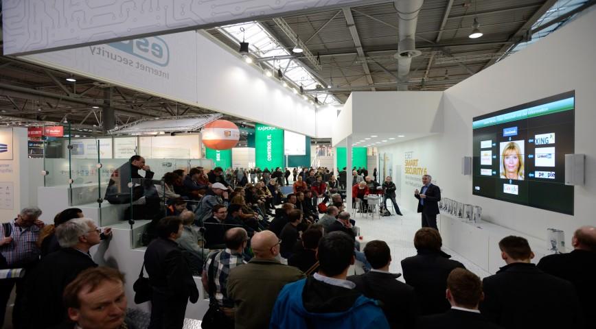 Первые презентации на выставке CeBIT 2014