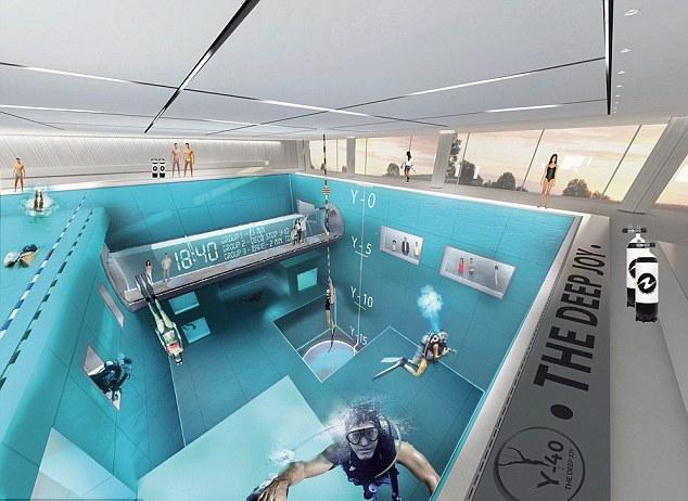 Y-40 The Deep Joy: бассейн глубиной 40 метров