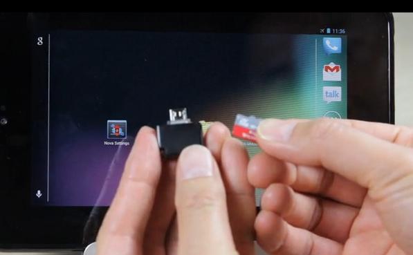 Mini MicroSD Reader для Android-смартфонов и планшетов