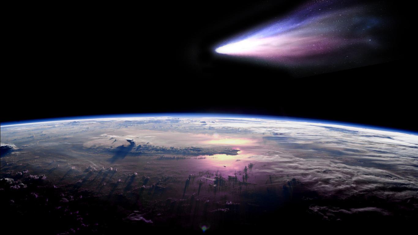 Ученые боятся больших комет, потому что столкновение с такими может вызвать крупномасштабные последствия в атмосфере и магнитосфере Земли
