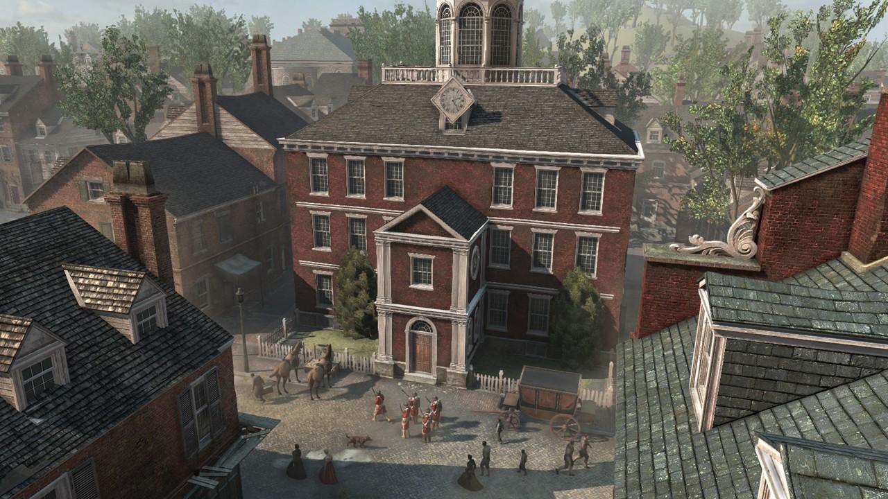Assassin's Creed 3 населен полноценными персонажами